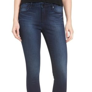 Articles of Society Carly skinny cut off hem jeans